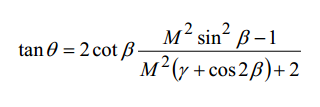 β-θ-M equation.